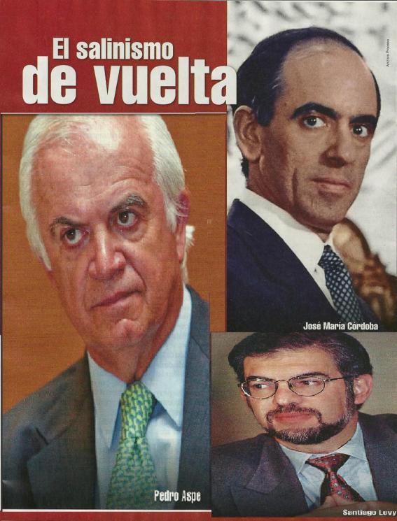El salinismo de vuelta con Enrique Peña Nieto.